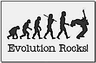 evolution rocks